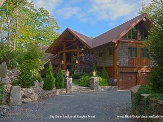 Big Bear Lodge at Eagles Nest- Breathtaking Luxury - Blue Ridge Mountains vacation rentals