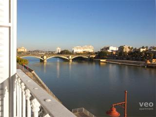 Betis No. 3   2-bedrooms, river views, parking - Seville vacation rentals