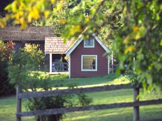 Foxglove Farm Cottages: The Red Cabin - Salt Spring Island vacation rentals