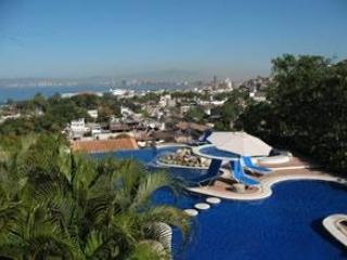 View from Dining Terrace - Luxury View Penthouse 2BR/2BA at Selva Romantica - Puerto Vallarta - rentals