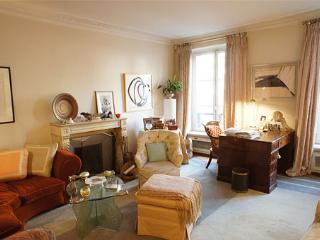 In the heart of Paris, Charming  Apartment in the Marais with Terrace and Fireplace, sleeps 4 - Paris vacation rentals