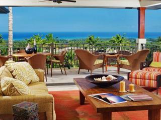 Four Seasons Luxury 3BD Hainoa Villa, Upper Level, Great Light And Incredible Vista Views - Kona Coast vacation rentals