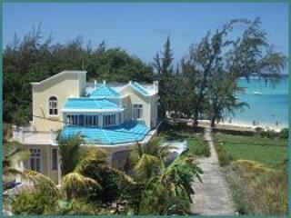 Front Elevation of the Villa - Luxury Beachfront Holiday Villa - Blue Bay - rentals