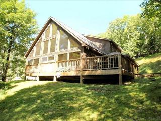 Two stories of comfort-15 Acres of Privacy.  No wonder the eagle landed here! - Cabins vacation rentals