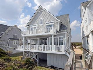 6BR Beachfront Home w/ Hottub wk of 6/6 $2995 - North Topsail Beach vacation rentals