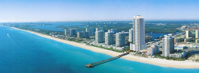 La Perla view from the ocean - La Perla Ocean Resort Condominiums - Sunny Isles Beach - rentals