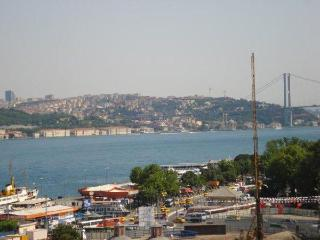 BOSPHORUS DUPLEX FLAT WITH SEA VIEW TERRACE - Istanbul vacation rentals