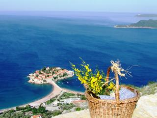 NR Lux Two-Bedroom Apartment with terrace,Sea View - Sveti Stefan vacation rentals