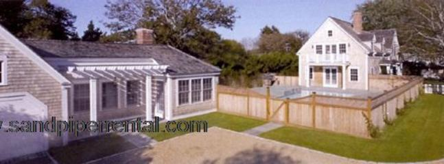 #291 Main house, guest house and pool minutes from Edgartown - Image 1 - Edgartown - rentals
