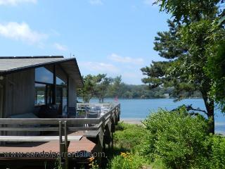 #8140 Stunning Waterfront Home on Lagoon Pond In Oak Bluffs - Oak Bluffs vacation rentals