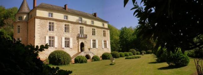Front view of the Chateau - Chateau de Siorac - Annesse-et-Beaulieu - rentals