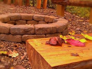 Outdoor Firepit - Secluded 1 Bedroom Near All The Fun - Sevierville vacation rentals