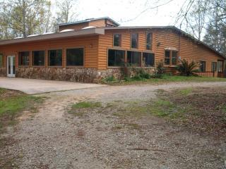 Quiet Secluded Log Cabin Lake Home - Augusta vacation rentals
