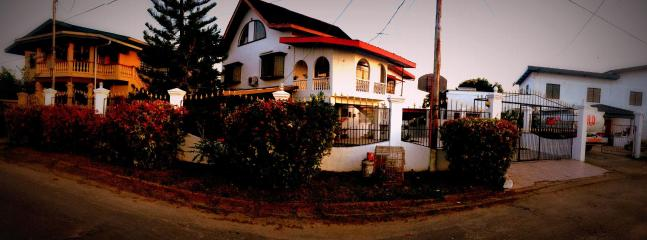 Panoramic View Of House From Outside - The House on the Hill, San Fernando - Trinidad and Tobago - rentals
