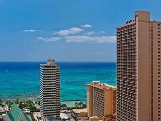 WAIKIKI BANYAN-Deluxe Ocean View-1 block to beach! - Honolulu vacation rentals