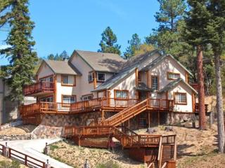 Moose Manor Cabin a Vacation Cabin in Big Bear where you can enjoy those lazy days in front of an incredibly inviting stone fire - Big Bear Area vacation rentals