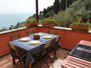 Penthouse with Garden Terrace Sea View and Parking-Zoagli - Zoagli vacation rentals