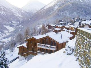 Stirling Luxury Chalet with floor-to-ceiling windows, 5 balconies & free shuttle to slopes - Saas-Fee vacation rentals