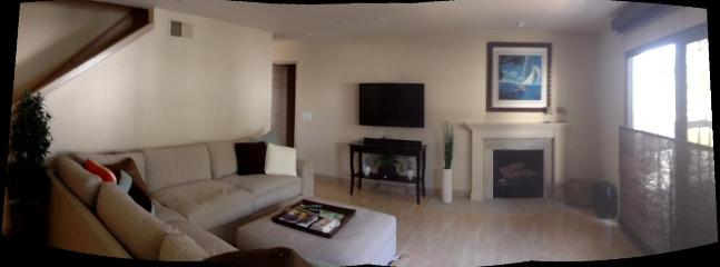 Panaroma of living area - Beach area condo  Newport/Huntington Beach - Costa Mesa - rentals