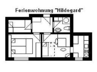 Apartment, 2 bedrooms (3-5 persons) - Wetzlar vacation rentals