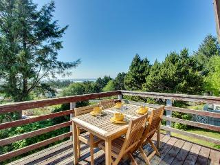 Pet-friendly, ocean views, great outdoor deck! - Waldport vacation rentals