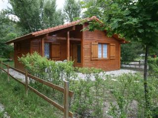 Wooden chalet on a lakeside campsite - Hautes-Alpes vacation rentals