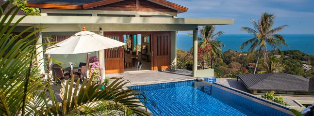 Peaceful and serene setting - Exciting 1 Bedroom New Panoramic Ocean View Villa - Koh Samui - rentals