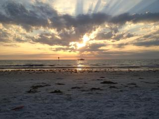 Lazy Dolphin - 3 Bdrs - Beachfront with Pool - Indian Rocks Beach vacation rentals