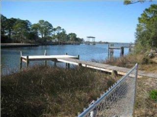 Single level home with private dock - Saint George Island vacation rentals