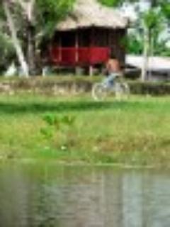 cabana overlooking river - Cabana Overlooking River in Belize - Orange Walk - rentals
