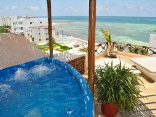 Mayan Tides Condo in Puerto Morelos,6 guests! - Playa Paraiso vacation rentals