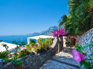 Terrazza magnificent villa in Positano parking - Positano vacation rentals