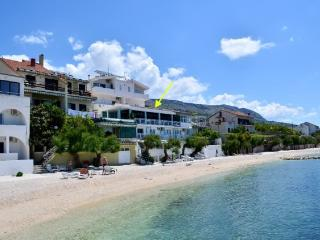 App Zanic, BEACHFRONT-A4(2+2) - Podstrana vacation rentals