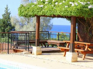 Impressive villa with pool and sea view - Paphos vacation rentals