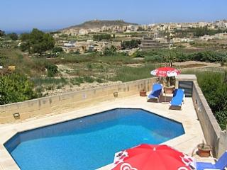 Razzett Ta Pawlu farmhouse with pool and nice view - Gharb vacation rentals