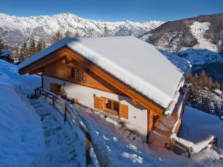 Stunning new 5 bedroom ski chalet - La Tzoumaz vacation rentals