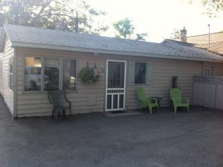 Ludington Beach 1/2 Block Away-Parkview Cottage - Ludington vacation rentals