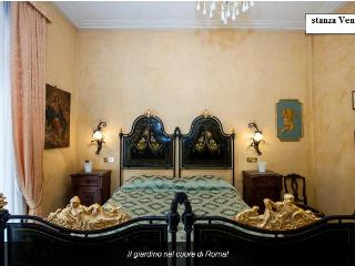 Venice Room the garden in the heart of Rome. - Rome vacation rentals