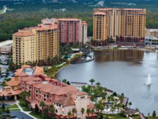 Sky view of newer portion of Bonnet Creek - Wyndham's Bonnet Creek condo - Orlando - rentals