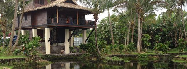 Koi Pond - Hale Lamalama Ka'ili -  Radiant Spirit of Health - Hilo - rentals