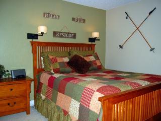 5-Star 2 Bath Peak 8 Ski Condo for 6; HDTV; Family - Breckenridge vacation rentals