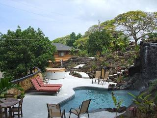 Tropical Paradise Home W Heated Pool Spa & Fall-2A - Holualoa vacation rentals