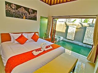 Romantic One Bedroom Villa with Private Pool & jac - Kedonganan vacation rentals