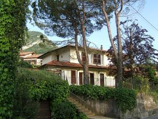 Spacious apartment in villa with lovely  garden - Cremia vacation rentals