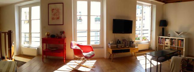 """general view room - Le """"Bateau Lavoir"""" Ravignan Montmartre - Chemille Sur Indrois - rentals"""