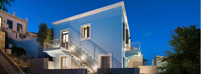 VILLA KALYPSO sea view luxurius traditional villa - Image 1 - Halki - rentals