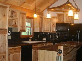 Couples cabin on a 65 acre buffalo ranch! - Candler vacation rentals