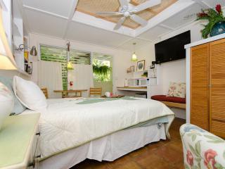 Studio open:7/1-4, 7/8-26, 8/1-9/1, 9/6-10/10,17+ - Waimanalo vacation rentals