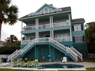85 Dune, Spacious Seven Bedroom Oceanfront Home - South Carolina Island Area vacation rentals