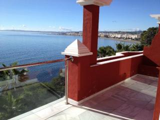 FIRST LINE PENTHOUSE DUPLEX OVER THE ESTEPONA BAY - Estepona vacation rentals